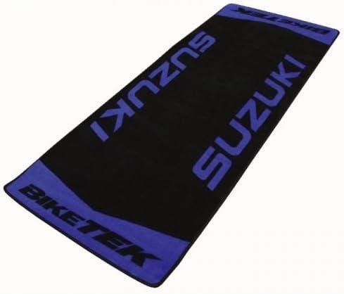 Biketek Garagenmatte Suzuki Teppich Werkstattmatte Auto