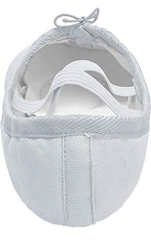 Shipper Canvas Women's White Dance Girls' Shoes Shoe L Ballet Yoga RUN Ballet 8xw7fn1