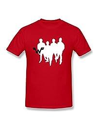 Weezer Logo Men's T-shirt ,Red