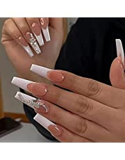 Medium Length Press on Nails with Designs