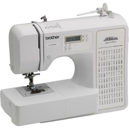 Kinsman Computerized 100-Stitch Project Runway Sewing Machine, has 8 buttonhole styles