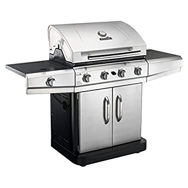 Char-Broil Classic 4-Burner Gas Grill, Cabinet