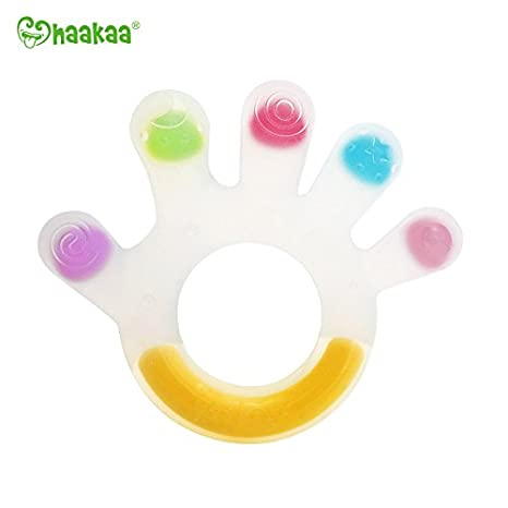 haakaa Silicone Palm Teether Food Grade Silicone BPA Free