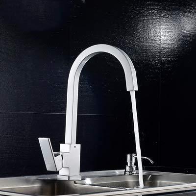 6 YAWEDA Space Aluminum Kitchen Faucet Vegetable Bathroom Basin Sink Water Taps Cold Hot gold Mixer Luxury Mixer,3