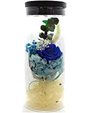 Eternal Rose Forever Flower, Preserved Eternal Real Rose Present with Led Mood Light, Best Gift for Mother's Day, Thanksgiving Day,Birthday, Anniversary, Valentine's Day, Christmas