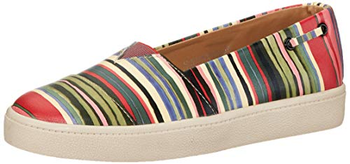 Amazon Brand - Symbol Women's Brown/Red Sneakers- 3 UK (36 EU) (6 US) (AZ-WSY-18) (B07XRX89DM) Amazon Price History, Amazon Price Tracker