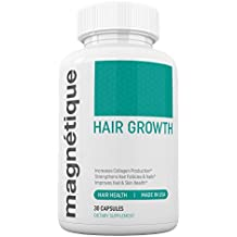 Magnetique Hair Growth -Promotes Stronger, Longer, Healthier Hair - GMO Free