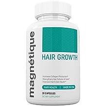 Magnetique Hair Growth -Promotes Stronger, Longer, Healthier Hair - GMO Free
