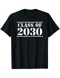Class of 2030 official 2018 kindergarten grad t-shirt