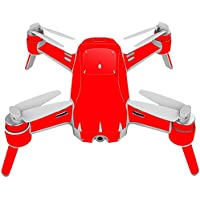 Skin For Yuneec Breeze 4K Drone – Solid Red | MightySkins Protective, Durable, and Unique Vinyl Decal wrap cover | Easy To Apply, Remove, and Change Styles | Made in the USA