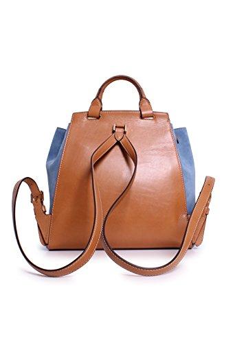 e5ed2baae743 ... sale michael michael kors romy medium backpack denim suede buy online  1053c a5193