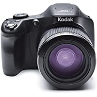 Kodak Pixpro Astro Zoom AZ651 20 MP Digital Camera with 65X Opitcal Zoom, 1080p Video Recording and 3-inch LCD Screen (Black)
