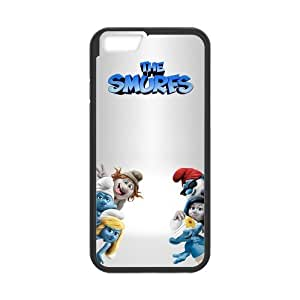 [Accessory] iPhone 6 Case, [The Smurfs] iPhone 6 (4.7) Case Custom Durable Case Cover for iPhone6 TPU case(Laser Technology)
