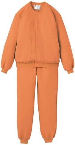 エンゼル ウェーブニット室内着 オレンジ L 5080