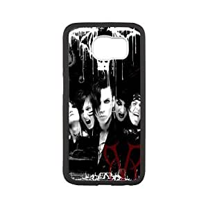 Best-Diy LIUMINGGUANG cell phone case cover Style-15 -Music Band Black Veil Brides Design protective case cover For Samsung Galaxy b7snHW3L743 S6