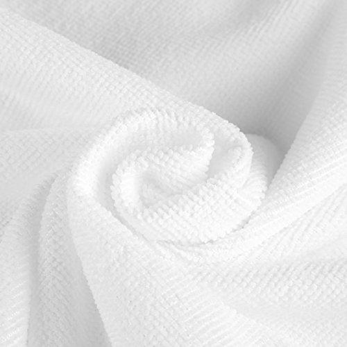 Serviette De Bain, Dos Nu Camouflage Couverture Piscine Plage Jupe Wrap Bikini Robe Spa Yoga Salle De Pique-nique Absorbant L'eau Rapidement (bleu) Blanc