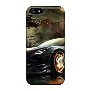 Durable Cell-phone Hard Cover For Iphone 5/5s (Eun8073cBLY) Support Personal Customs Fashion Nissan Gtr Skin