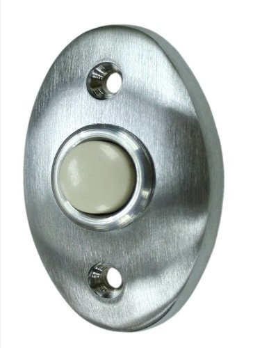 Deltana BBC20U10B Oil Rubbed Bronze Bell Button Standard