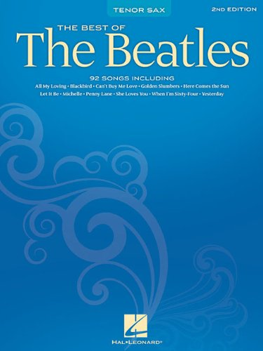 Best of the Beatles Tenor Sax [Beatles, The] (Tapa Blanda)