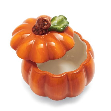 Sur La Table Pumpkin Bowl with Lid