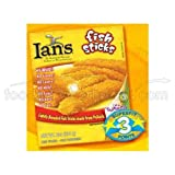 Ians Natural Foods Fish Stick, 8 Ounce -- 12 per case.