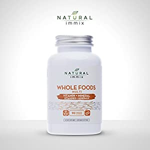 Natural immix – Whole Foods Multi, Complete Blend of Vitamins and Minerals, Formulated with…