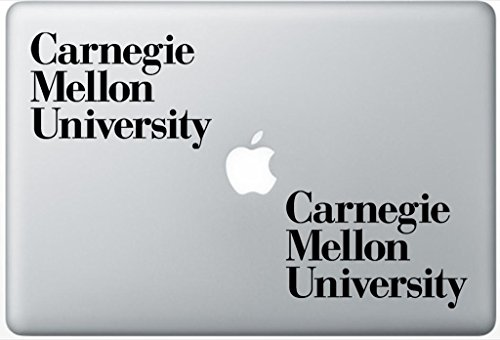 carnegie-mellon-university-libraries-arcdecals78601578-set-of-two-2x-decal-sticker-laptop-ipad-car-t