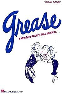 Grease: Vocal Score. Partituras para Piano, Voz: Amazon.es
