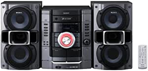 Sony MHCRG295 Mini HiFi System with 3CD/2Tape/AM&FM Tuner