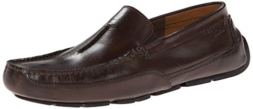 CLARKS Men's Ashmont Race, Brown Smooth, 8 D-Medium ()