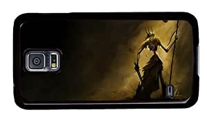 Hipster top Samsung Galaxy S5 Cases soul reaper PC Black for Samsung S5