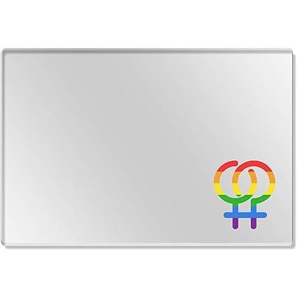 Azeeda Símbolo Lesbico Mantelito Transparente (CR00138747 ...