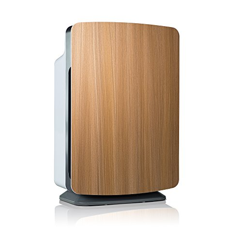 Alen BreatheSmart Customizable Air Purifier with HEPA-Pure Filter for Allergies and Dust (Oak, 1-Pack)