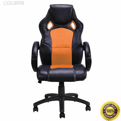 41c 2f9Tv6L - COLIBROX--High Back Race Car Style Bucket Seat Office Desk Chair Gaming Chair Orange New 360 Degree Swivel Wheel And Chair Can Run Smoothly On Floor -5 Castor Wheel For Greater Stability