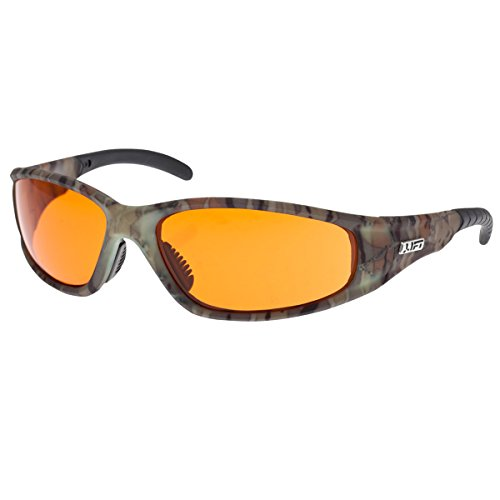 Lift Safety Strobe Safety Glasses  Camo Frame Amber Lens