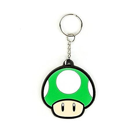 Llavero de caucho Mario Bros. Seta: Amazon.es: Juguetes y juegos