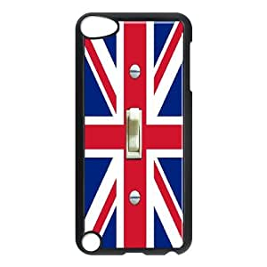 Custom Music Jukebox Cell Phone Case, Custom Durable Cover Case for iPod Touch 5 Music Jukebox