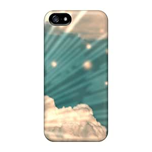 Protective PC Case With Fashion Design For SamSung Galaxy S5 Phone Case Cover (sky)
