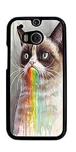 Grumpy Cat Hard Case for HTC ONE M8 ( Sugar Skull )