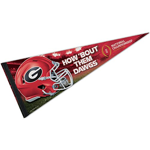 - WinCraft Georgia Bulldogs 2018 National Football Championship Game Pennant