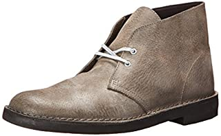 Clarks Men's Bushacre 2 Chukka Boot,Grey Leather,8.5 M US (B00B8WQ8JQ) | Amazon price tracker / tracking, Amazon price history charts, Amazon price watches, Amazon price drop alerts
