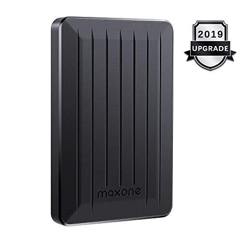 1TB External Hard Drive Portable - Maxone Upgrade Portable HDD USB 3.0 for PC, Laptop, Mac, Xbox one, PS4, Chromebook, Smart TV - Black (Best External Hard Drive Wii U)