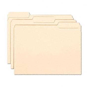 Smead Products   Smead   Interior File Folders, 1/3 Cut, Top Tab