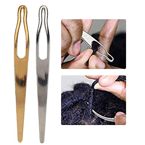 [해외]BELLESTYLE 2pcs Dreadlocks Tools Craft Dreadlocks Needle Sisterlocks Crochet Hook for Starting and Maintaining Your Locs Easy / BELLESTYLE 2pcs Dreadlocks Tools Craft Dreadlocks Needle Sisterlocks Crochet Hook for Starting and Main...