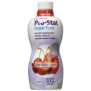Protein Supplement Pro-Stat® Sugar Free Wild Cherry Punch 30 oz.