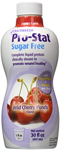Protein Supplement Pro-Stat® Sugar Free Wild Cherry Punch 30 ()
