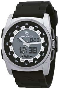 Rip Curl A2453 _544 - Reloj analógico y digital de cuarzo para hombre con correa de plástico, color negro