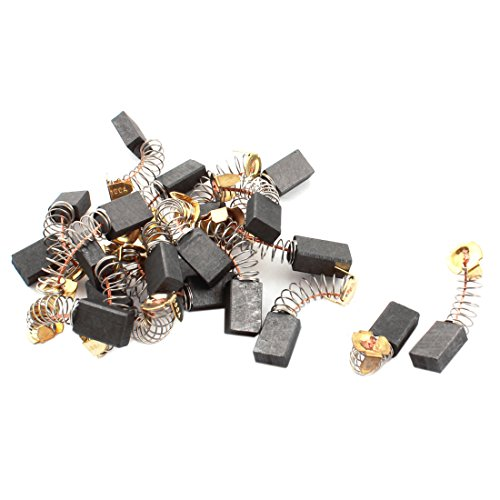 uxcell 20pcs Power Tool Repairing 15mm x 10mm x 6mm Motor Carbon Brushes