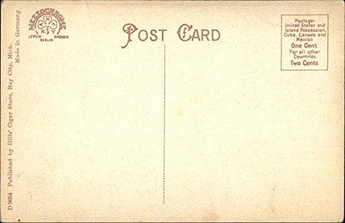 Wenonah Hotel Bay City, Michigan Original Vintage Postcard