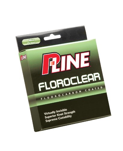 P-Line Floroclear 300-Yard Filler Fishing Line ( 6-Pound, Mist Green)